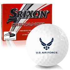 Srixon Distance US Air Force Golf Balls