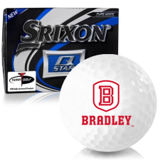 Srixon Q-Star Bradley Braves Golf Balls