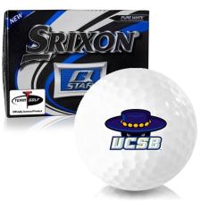 Srixon Q-Star Cal Santa Barbara Gauchos Golf Balls