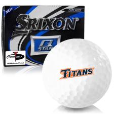 Srixon Q-Star Cal State Fullerton Titans Golf Balls