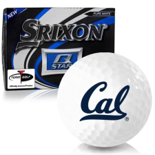 Srixon Q-Star California Golden Bears Golf Balls