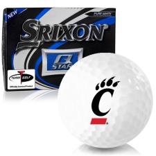 Srixon Q-Star Cincinnati Bearcats Golf Balls