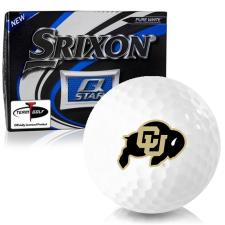 Srixon Q-Star Colorado Buffaloes Golf Balls