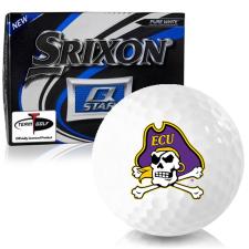 Srixon Q-Star East Carolina Pirates Golf Balls
