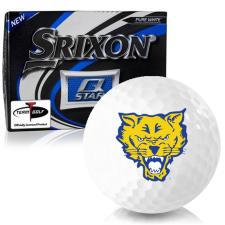 Srixon Q-Star Fort Valley State Wildcats Golf Balls