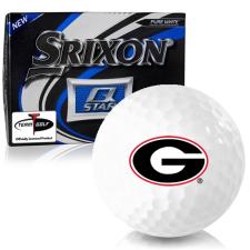Srixon Q-Star Georgia Bulldogs Golf Balls