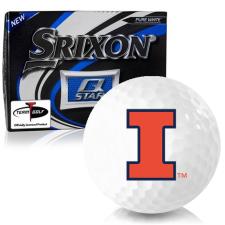 Srixon Q-Star Illinois Fighting Illini Golf Balls