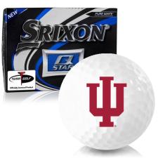 Srixon Q-Star Indiana Hoosiers Golf Balls