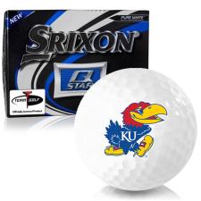 Srixon Q-Star Kansas Jayhawks Golf Balls