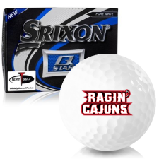 Srixon Q-Star Louisiana Ragin' Cajuns Golf Balls