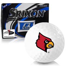 Srixon Q-Star Louisville Cardinals Golf Balls