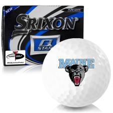 Srixon Q-Star Maine Black Bears Golf Balls