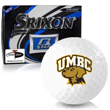 Srixon Q-Star Maryland Baltimore County Retrievers Golf Balls