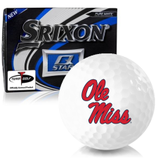 Srixon Q-Star Ole Miss Rebels Golf Balls