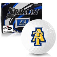 Srixon Q-Star North Carolina A&T Aggies Golf Balls