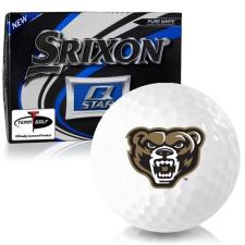 Srixon Q-Star Oakland Golden Grizzlies Golf Balls