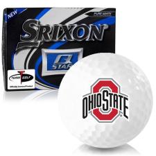 Srixon Q-Star Ohio State Buckeyes Golf Balls