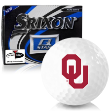 Srixon Q-Star Oklahoma Sooners Golf Balls