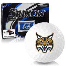 Srixon Q-Star Quinnipiac Bobcats Golf Balls