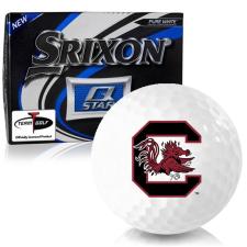 Srixon Q-Star South Carolina Fighting Gamecocks Golf Balls