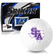 Srixon Q-Star Stephen F. Austin Lumberjacks Golf Balls