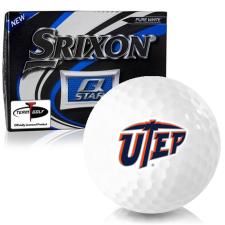 Srixon Q-Star Texas El Paso Miners Golf Balls