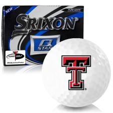 Srixon Q-Star Texas Tech Red Raiders Golf Balls