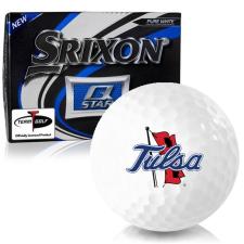 Srixon Q-Star Tulsa Golden Hurricane Golf Balls