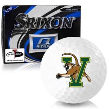 Srixon Q-Star Vermont Catamounts Golf Balls