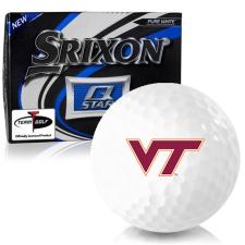 Srixon Q-Star Virginia Tech Hokies Golf Balls