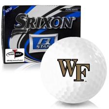 Srixon Q-Star Wake Forest Demon Deacons Golf Balls