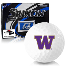 Srixon Q-Star Washington Huskies Golf Balls