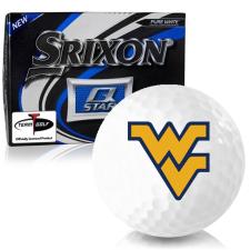 Srixon Q-Star West Virginia Mountaineers Golf Balls