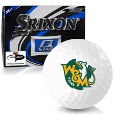 Srixon Q-Star William & Mary Tribe Golf Balls