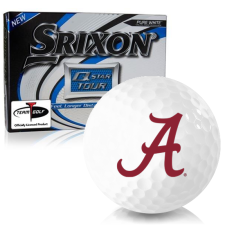 Srixon Q-Star Tour 3 Alabama Crimson Tide Golf Balls