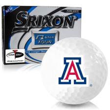Srixon Q-Star Tour 3 Arizona Wildcats Golf Balls