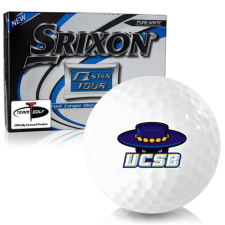 Srixon Q-Star Tour 3 Cal Santa Barbara Gauchos Golf Balls