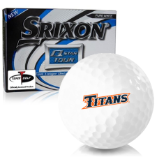 Srixon Q-Star Tour 3 Cal State Fullerton Titans Golf Balls