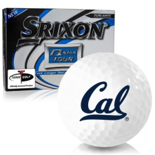 Srixon Q-Star Tour 3 California Golden Bears Golf Balls