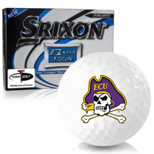 Srixon Q-Star Tour 3 East Carolina Pirates Golf Balls