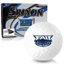 Srixon Q-Star Tour 3 Florida Atlantic Owls Golf Balls