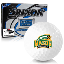 Srixon Q-Star Tour 3 George Mason Patriots Golf Balls
