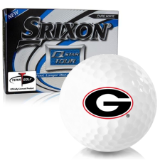 Srixon Q-Star Tour 3 Georgia Bulldogs Golf Balls
