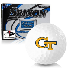 Srixon Q-Star Tour 3 Georgia Tech Golf Balls