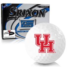 Srixon Q-Star Tour 3 Houston Cougars Golf Balls