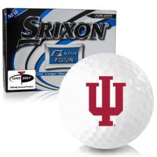 Srixon Q-Star Tour 3 Indiana Hoosiers Golf Balls