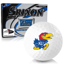 Srixon Q-Star Tour 3 Kansas Jayhawks Golf Balls