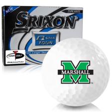 Srixon Q-Star Tour 3 Marshall Thundering Herd Golf Balls