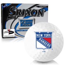Srixon Q-Star Tour 3 New York Rangers Golf Balls