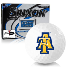 Srixon Q-Star Tour 3 North Carolina A&T Aggies Golf Balls